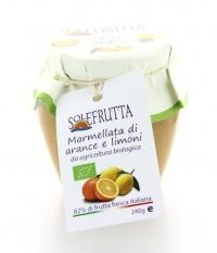 Marmellata di Arance e Limoni Biologica