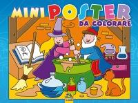 Mini Poster da Colorare - Blu