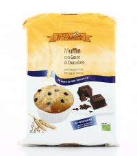 Muffin con Gocce di Cioccolato Bio