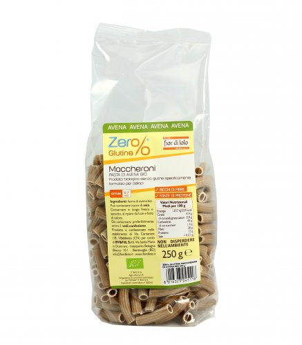 Maccheroni di Avena Bio - Zero Glutine