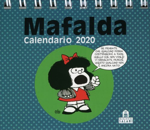 Mafalda - Calendario da Tavolo 2018