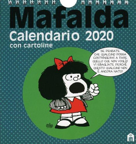 Mafalda - Calendario da Tavolo con Cartoline 2019