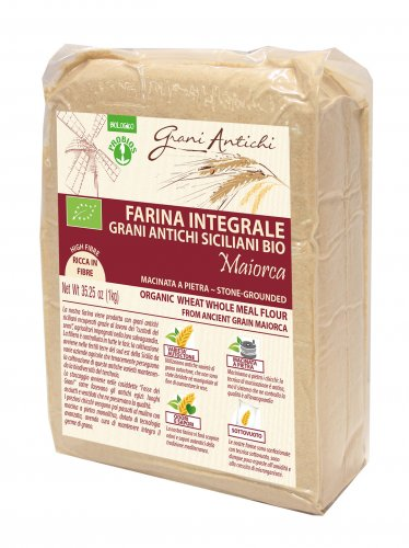 Farina Integrale Grani Antichi Siciliani Bio - Maiorca