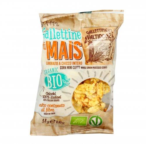 Mini Gallette di Mais Bio 100% Italiane