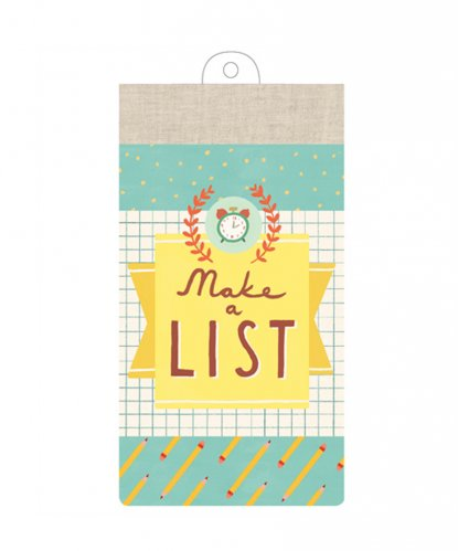Blocchetto List Pad Make A List - 60 Fogli