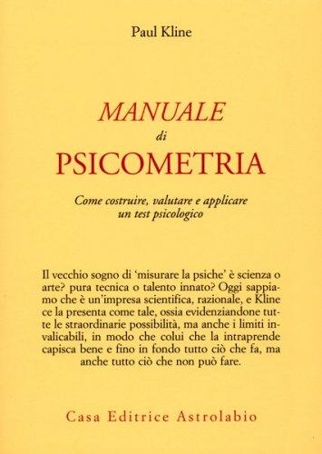 Manuale di Psicometria