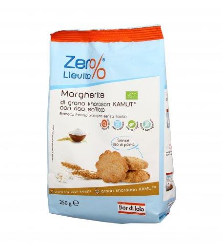 Biscotti Margherite KAMUT® - grano khorasan con Riso Soffiato