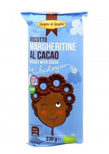 Biscotti Margheritine al Cacao