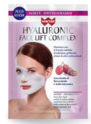 Maschera Viso Antietà - Hyaluronic Intensive Effect