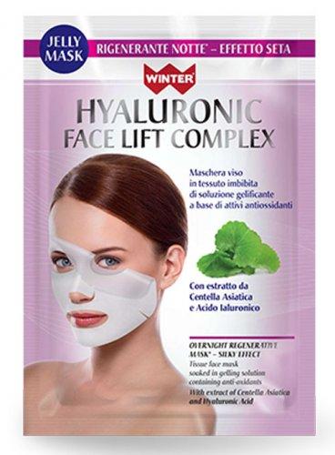 Maschera Viso Rigenerante Notte - Hyaluronic Silky Effect