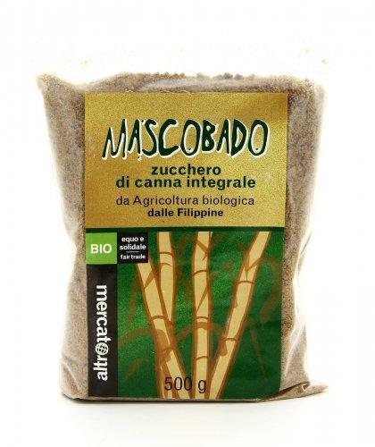 Zucchero di Canna Integrale Mascobado dalle Filippine