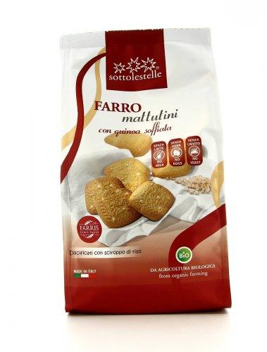 Mattutini di Farro con Quinoa Soffiata