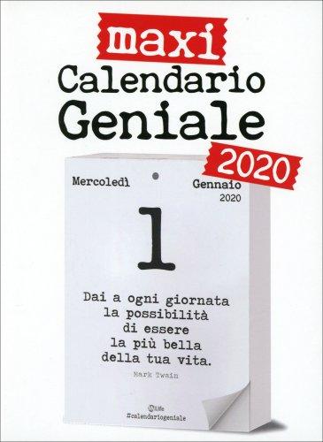Maxi Calendario Geniale 2020