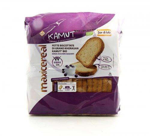 Fette Biscottate Integrali KAMUT® - grano khorasan Bio - Maxicereal