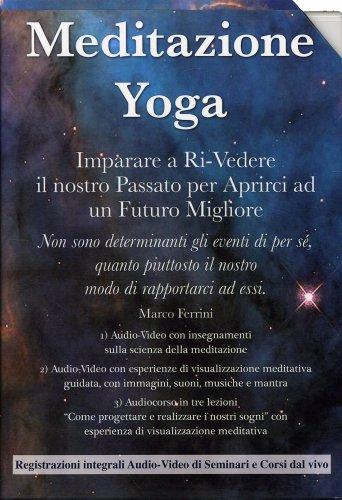 Meditazione Yoga Cofanetto con 3 Dvd e 1 Cd Mp3