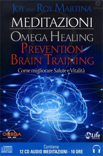Omega Healing - Prevention Brain Training - 12 CD Audio