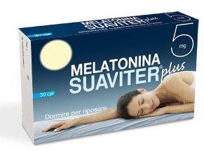 Melatonina Suaviter Plus 5 mg - 30 Compresse