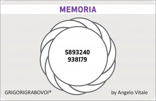 Tessera Radionica 83 - Memoria