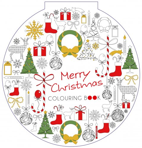 Merry Christmas - Colouring Book