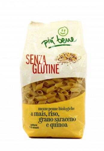 Pasta - Mezze Penne di Mais Riso Grano Saraceno e Quinoa