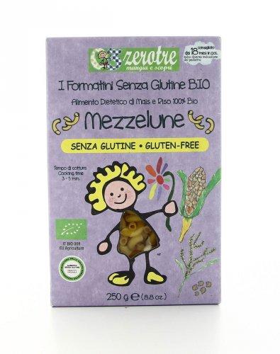 Zerotre - Mezzelune Mais e Riso Bio