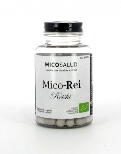 Mico Rei Reishi - 70 Capsule (estratto puro, produzione bio)