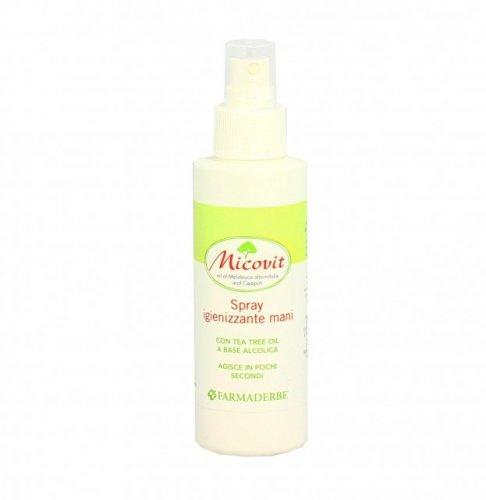 Spray Igienizzante Mani al Tea Tree - Micovit - 125 ml