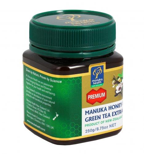 Miele di Manuka MGO 250+ con Estratto di Tè Verde 250 gr