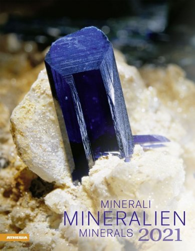 Calendario Minerali - Mineralien 2018