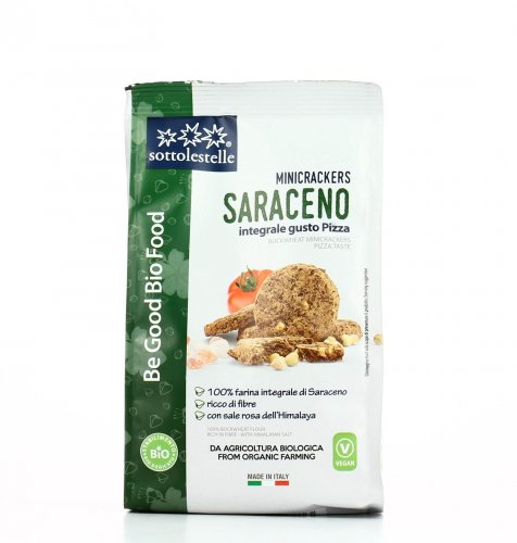 Mini Crackers Saraceno Integrale - Gusto Pizza