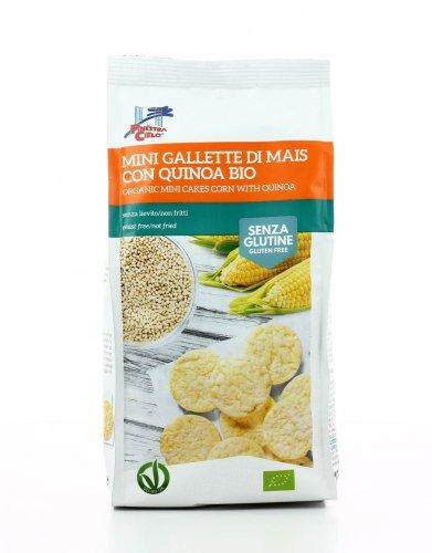 Mini Gallette di Mais con Quinoa Bio Senza Glutine