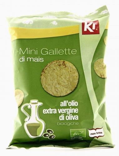 Mini Gallette di Mais all'Olio Extravergine di Oliva
