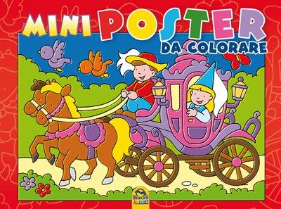 Mini Poster da Colorare - Rosso