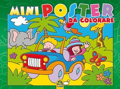 Mini Poster da Colorare - Verde