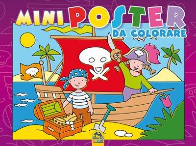 Mini Poster da Colorare - Viola