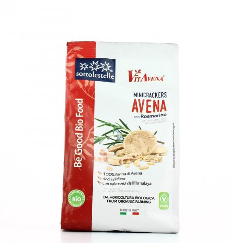 Mini Crackers di Avena con Rosmarino - Vitavena