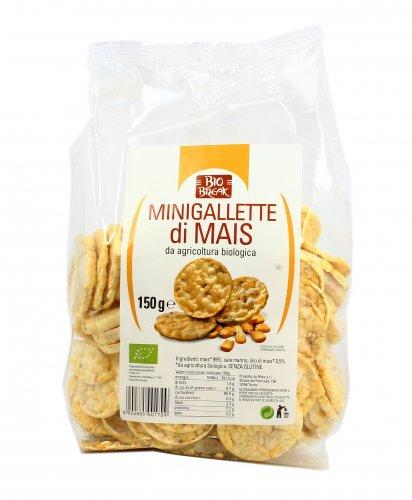 Mini Gallette di Mais Bio