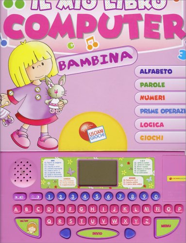 Il Mio Primo Libro Computer - Bambina