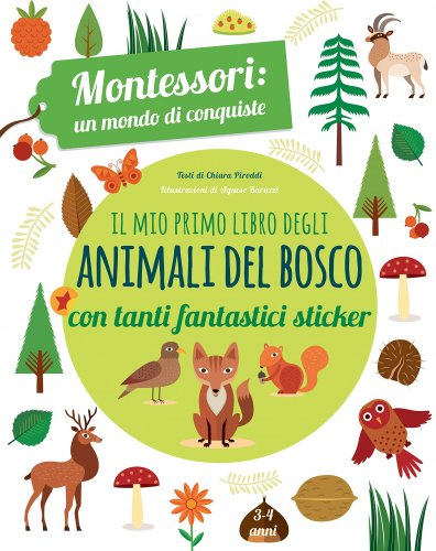 Il Mio Primo Libro degli Animali del Bosco