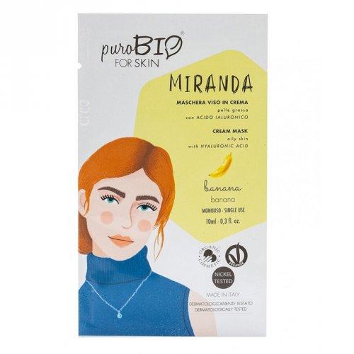 Maschera Viso in Crema Pelle Grassa - Miranda