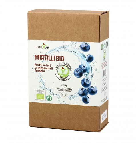 Mirtilli Bio - Fresh Freeze Dried