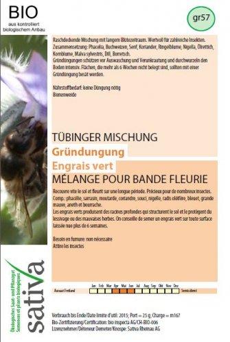 "Miscela Tubinger - Sovescio ""Miscela per Aiuola"" - gr57"