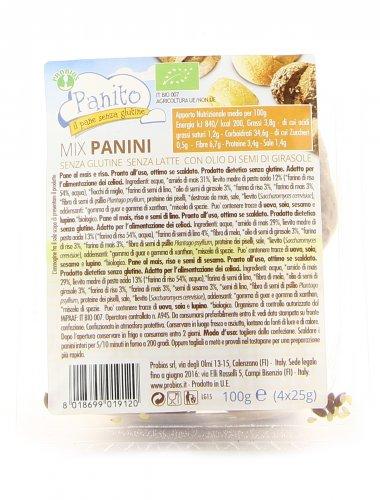 Mix Panini Senza Glutine