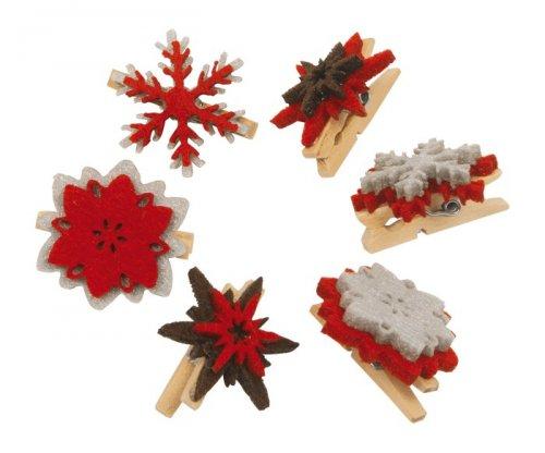Mollette Decorative - Natale