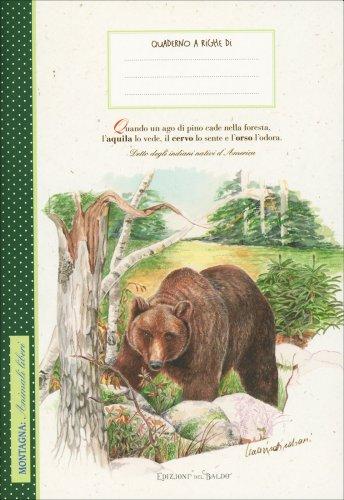 Montagna: Animali Liberi - Quaderno a Righe