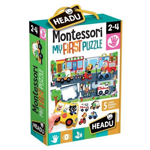 Montessori My First Puzzle The City - La Città