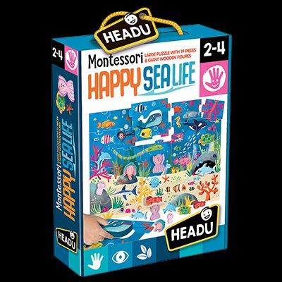 Montessori - Happy Sealife 2/4 Anni