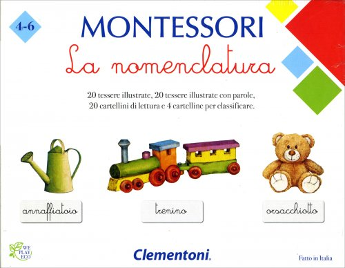 La Nomenclatura - Montessori
