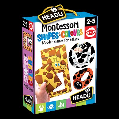 Montessori - Shapes & Colours 2/4 Anni
