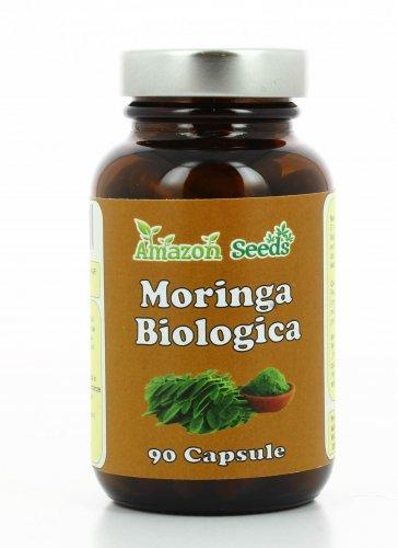 Moringa Biologica in Capsule